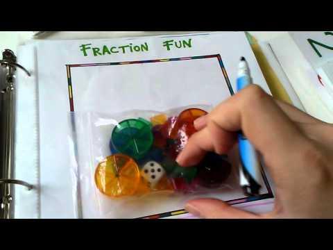 Math Activity Mats/File Folder Games (K-2nd Grade)