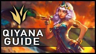 Qiyana Jungle Gameplay Guide - League of Legends 2019