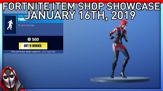 TWIST AND ELECTRO SHUFFLE ARE BACK!!! January 16th New Skins || Daily Fortnite Item Shop