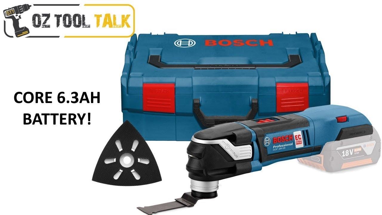 bosch 18v starlock multi-tool gop18v-28 + gop 55-36 - youtube