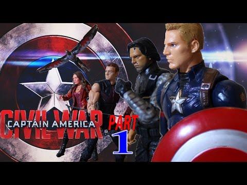 Captain America Civil War Stop Motion Film PART 1