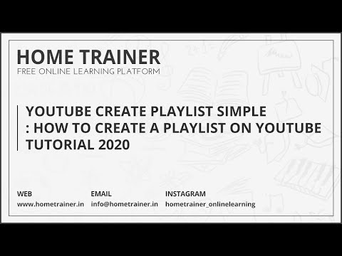 youtube how to create playlist