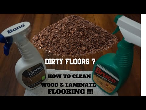 HOW TO CLEAN WOOD & LAMINATE FLOORS - PRODUCTS - METHODS - YEARS OF ADVICE - PROPERLY CLEAN FLOORS