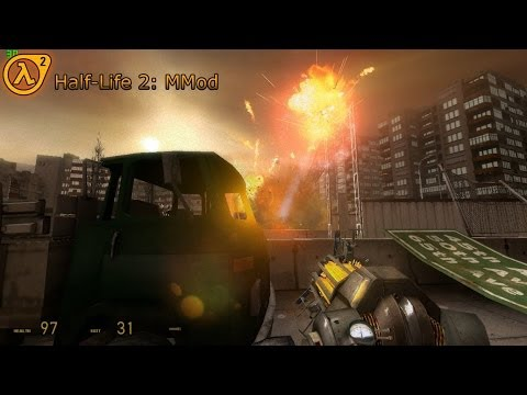 [ Half-Life 2 ] MMod - Overflow map gameplay