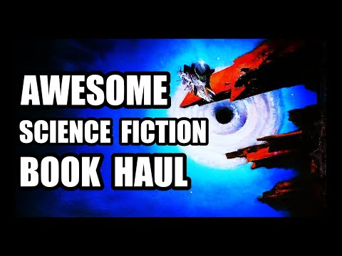 AWESOME SCIENCE FICTION BOOK HAUL
