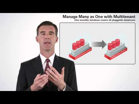 Simplify Consolidation with Oracle Database 12c
