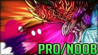 FULL NAKED ALATREON CHALLENGE - Pro and Noob VS Monster Hunter World Iceborne! #proandnoob