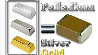 💠Palladium, Silver and Gold recovery from MLCC (Monolithic Ceramic Capacitors)💠