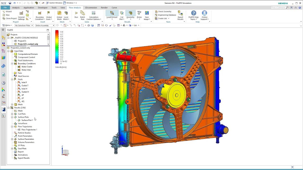 FLoEFD Heat Exchanger Design for Performance - Demonstration