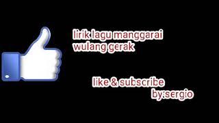 Lirik lagu manggarai terbaru wulang gerak
