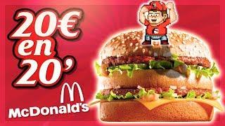 randy santel 20 mcdonald s value menu challenge   mandelvsfood joe burgerchallenge   5200 kcal