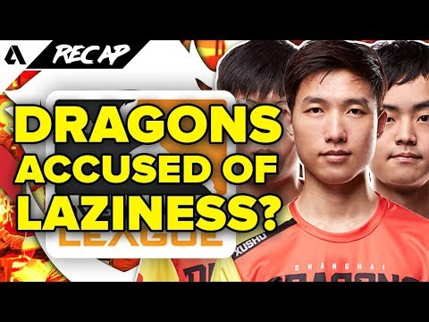 Shanghai Dragons Players Accused of Playing Too Much PUBG - Intensive OWL Training | Akshon Recap