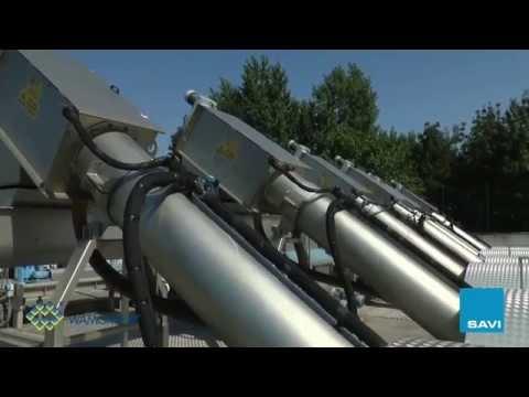 SAVI Waste Water Screening Equipment