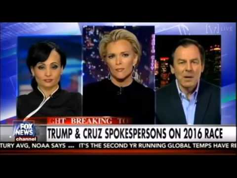 The Kelly File 1/20/16 Megyn Kelly on Sarah Palin endorses Donald Trump, Clinton's problem