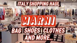 ENG) 이탈리아 쇼핑 하울 2탄 마르니 아울렛 │ 옷…
