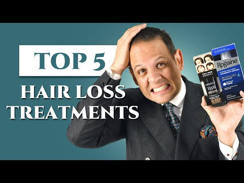 top-5-hair-loss-treatments-for-men---fighting-male-baldness-&-alopecia