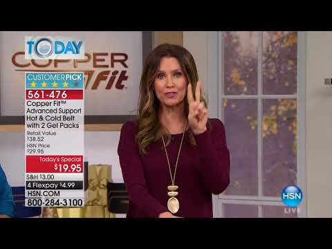 HSN | HSN Today: Copper Fit 10.16.2017 - 08 AM