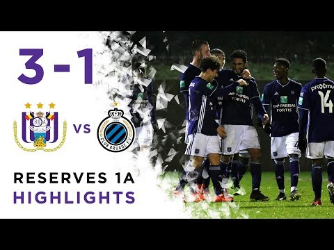Play-offs Reserves 1A: RSCA 3-1 Club Brugge