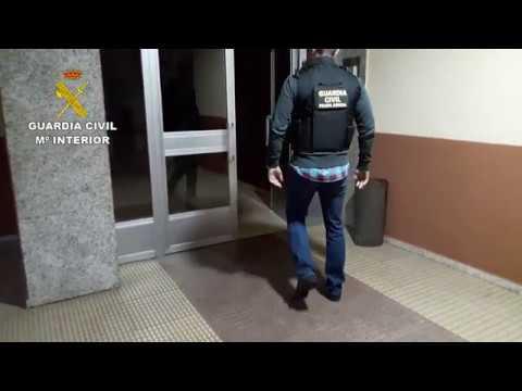 Detención del presunto violador de O Morrazo