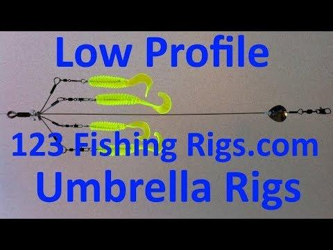 1-2-3 Castable Umbrella Rig (www.123FishingRigs.com)