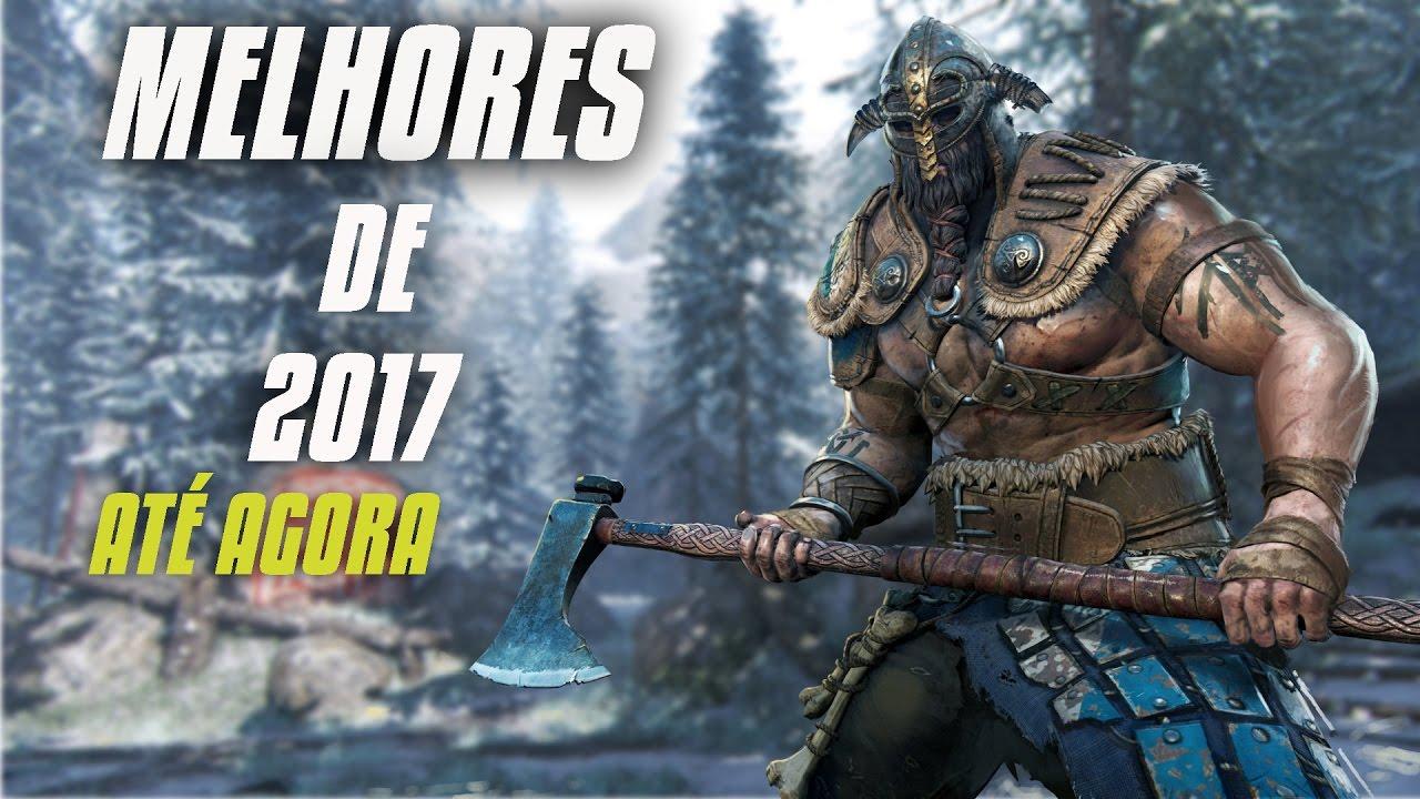 OS MELHORES JOGOS DE 2017 AT AGORA PC Xbox One PS4 E