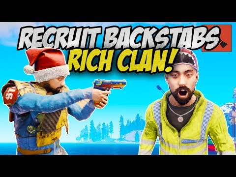 NEW RECRUIT BACKSTABS CLAN! *TAKES EVERYTHING* - Rust Solo #1 thumbnail