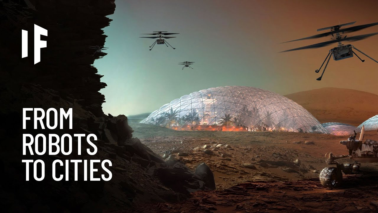 What If We Built a City on Mars?