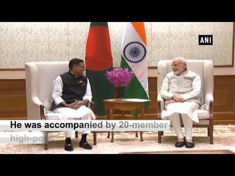 PM Modi meets Bangladesh Road Transport Minister