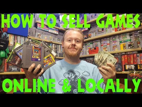 How To Sell Video Games Online And Locally