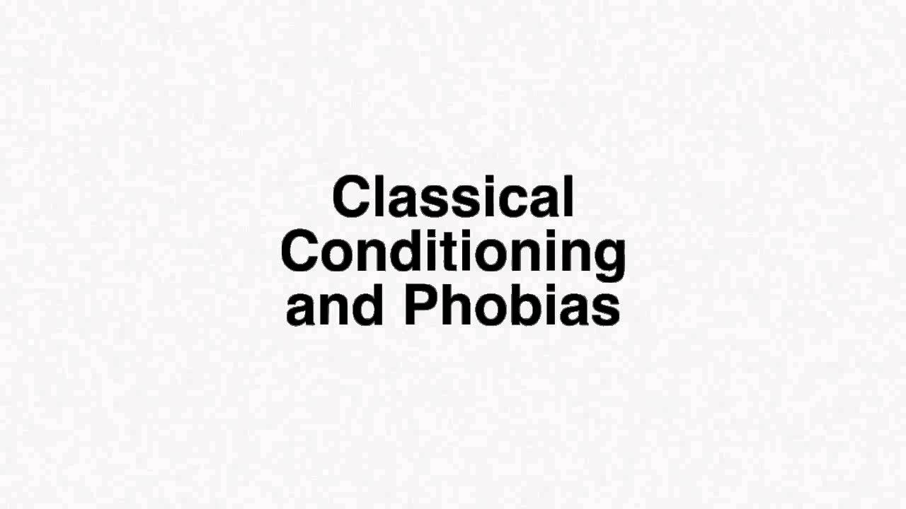 phobias pavlovian model acupressure enhanced psychotherapy a western scientific acupressure enhanced psychotherapy a western scientific acircmiddot classical conditioning