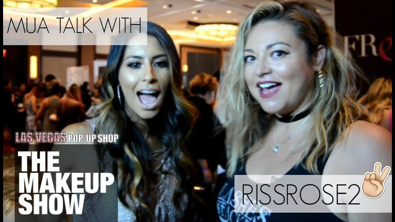 Mua Talk Social Media St R Rissrose2 The Makeup Show Las Vegas