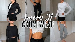 Forever 21 Activewear Try On Haul