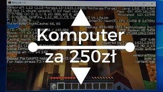 Komputer za 250 ZŁOTYCH do GIER cz.2 + TEST PALADINS,ETS2,MC,CS:GO (NUKE)