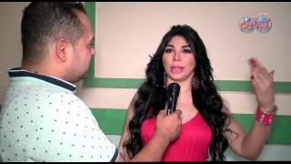رد فعل غريب من غادة إبراهيم علي سؤال أحترافها الرقص والغناء