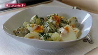 Młode ziemniaki z jajkiem i koperkiem w lekkim sosie jogurtowym :: Skutecznie.Tv [HD]