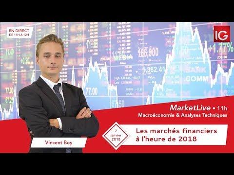#MarketLive 11h - Mardi 2 janvier 2018
