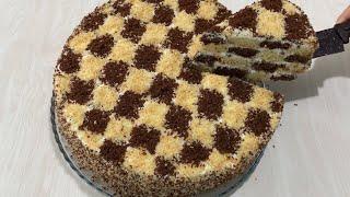 Бундан арзон торт булмиди Торт Шахматная доска Ни осталось ни крошки