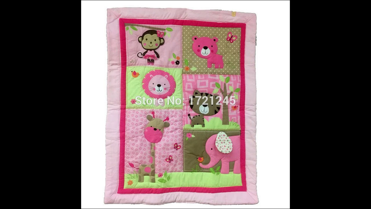 Baby Girl Applique Quilt Patterns Youtube