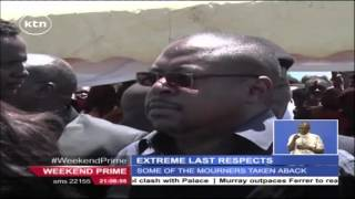 Extreme Lack of respect as Gor Mahia fans attend the burial of Actor Bokello