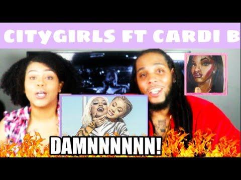 CITY GIRLS - TWERK ft CARDI B | REACTION!!