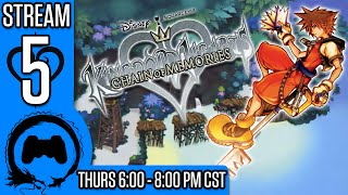 KINGDOM HEARTS: CHAIN OF MEMORIES Part 5 - Stream Four Star - TFS Gaming