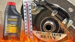 Texaco Havoline Extra 10W40 Jak skutecznie olej chroni silnik? 100°C