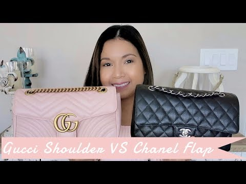 Gucci Marmont Shoulder Bag vs Chanel Medium/Large Classic Flap | Comparison | LalaLV