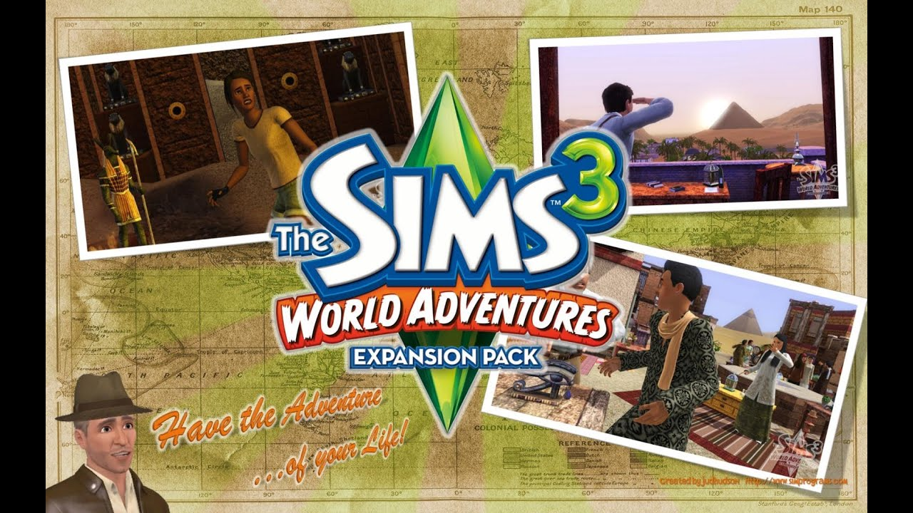 sims 3 expansion review world adventures youtube
