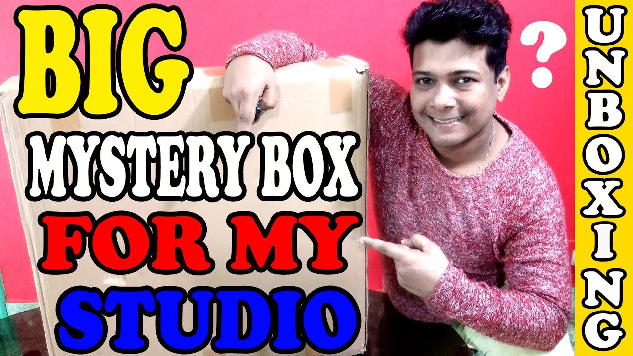 Amazon Mystery Box Unboxing India In Hindi For Youtube Studio Setup Youtube