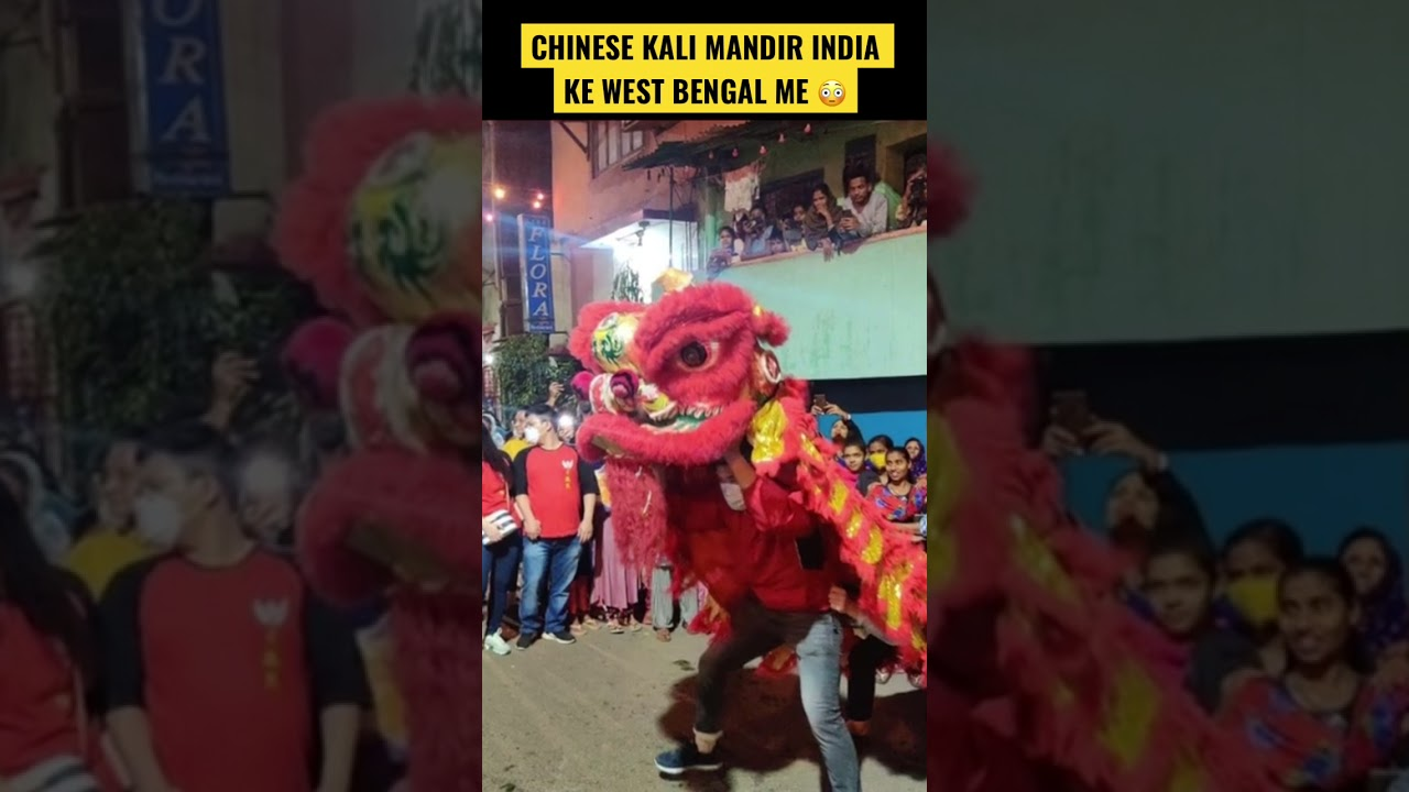 Kali mata ko noodles chadhai jati hain Chinese Kali Mandir me #shorts