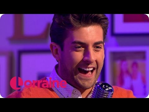 TOWIE's James Argent Sings 'Can't Take My Eyes Off You' by Frankie Valli | Lorraine