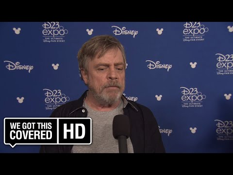 INTERVIEW: Mark Hamill Talks STAR WARS: THE LAST JEDI At D23 [HD]