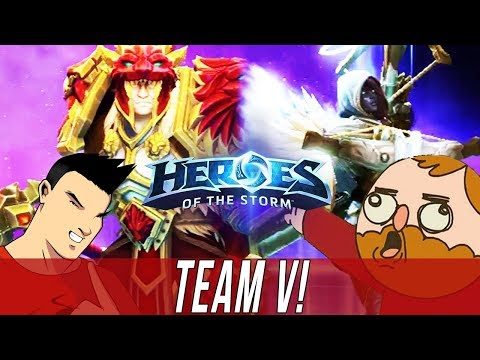 TEAM LE - TEAM V! - DUO QUEUE SILLINESS [Heroes Of The Storm]