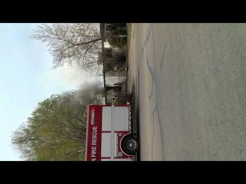 Edmonton fire rescue our hero's